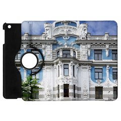 Squad Latvia Architecture Apple Ipad Mini Flip 360 Case by Celenk