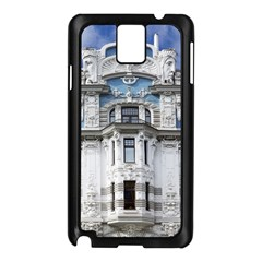 Squad Latvia Architecture Samsung Galaxy Note 3 N9005 Case (black) by Celenk