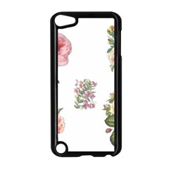 Rose Flowers Campanula Bellflower Apple Ipod Touch 5 Case (black) by Celenk