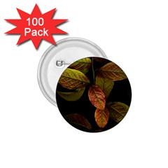 Autumn Leaves Foliage 1 75  Buttons (100 Pack)  by Celenk