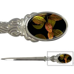 Autumn Leaves Foliage Letter Openers by Celenk