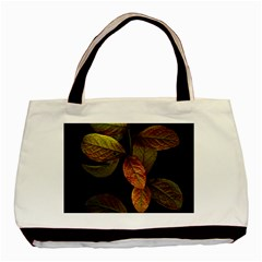 Autumn Leaves Foliage Basic Tote Bag (two Sides) by Celenk