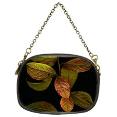 Autumn Leaves Foliage Chain Purses (one Side)  by Celenk