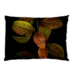 Autumn Leaves Foliage Pillow Case (two Sides) by Celenk
