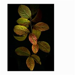Autumn Leaves Foliage Small Garden Flag (two Sides) by Celenk