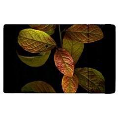 Autumn Leaves Foliage Apple Ipad 3/4 Flip Case by Celenk
