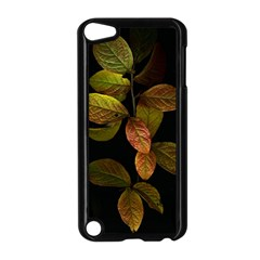 Autumn Leaves Foliage Apple Ipod Touch 5 Case (black) by Celenk