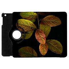 Autumn Leaves Foliage Apple Ipad Mini Flip 360 Case by Celenk