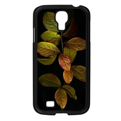 Autumn Leaves Foliage Samsung Galaxy S4 I9500/ I9505 Case (black) by Celenk