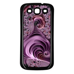 Abstract Art Fractal Samsung Galaxy S3 Back Case (black) by Celenk