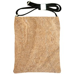 Rock Tile Marble Structure Shoulder Sling Bags by Celenk