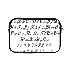 Font Lettering Alphabet Writing Apple Ipad Mini Zipper Cases by Celenk