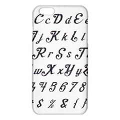 Font Lettering Alphabet Writing Iphone 6 Plus/6s Plus Tpu Case by Celenk
