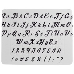 Font Lettering Alphabet Writing Jigsaw Puzzle Photo Stand (rectangular) by Celenk