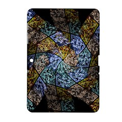 Multi Color Tile Twirl Octagon Samsung Galaxy Tab 2 (10 1 ) P5100 Hardshell Case  by Celenk