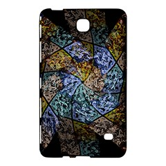 Multi Color Tile Twirl Octagon Samsung Galaxy Tab 4 (8 ) Hardshell Case  by Celenk