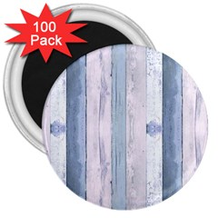 Plank Pattern Image Organization 3  Magnets (100 Pack) by Celenk