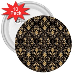 Wallpaper Wall Art Architecture 3  Buttons (10 Pack)  by Celenk