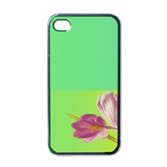 Background Homepage Blossom Bloom Apple Iphone 4 Case (black) by Celenk