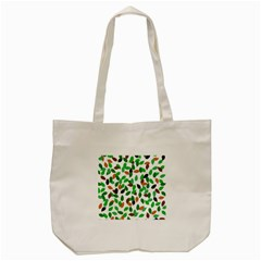Leaves True Leaves Autumn Green Tote Bag (cream) by Celenk