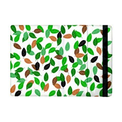 Leaves True Leaves Autumn Green Ipad Mini 2 Flip Cases by Celenk
