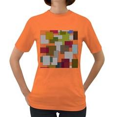 Decor Painting Design Texture Women s Dark T Shirt by Celenk