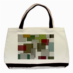 Decor Painting Design Texture Basic Tote Bag (two Sides) by Celenk