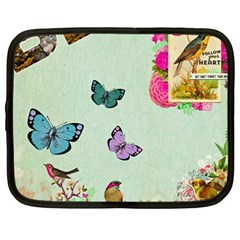 Collage Netbook Case (large) by 8fugoso