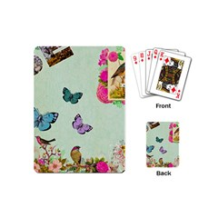 Collage Playing Cards (mini)  by 8fugoso