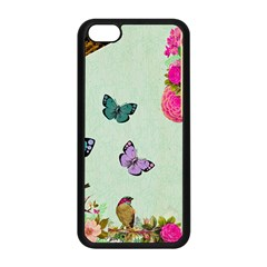 Collage Apple Iphone 5c Seamless Case (black) by 8fugoso