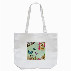 Collage Tote Bag (white) by 8fugoso