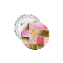 Collage Gold And Pink 1 75  Buttons by 8fugoso