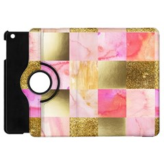 Collage Gold And Pink Apple Ipad Mini Flip 360 Case by 8fugoso