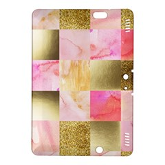 Collage Gold And Pink Kindle Fire Hdx 8 9  Hardshell Case by 8fugoso