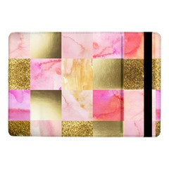 Collage Gold And Pink Samsung Galaxy Tab Pro 10 1  Flip Case by 8fugoso