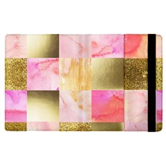 Collage Gold And Pink Apple Ipad Pro 9 7   Flip Case by 8fugoso