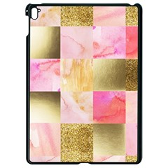 Collage Gold And Pink Apple Ipad Pro 9 7   Black Seamless Case by 8fugoso