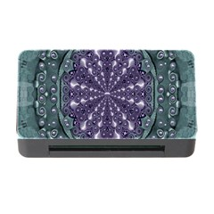 Star And Flower Mandala In Wonderful Colors Memory Card Reader With Cf by pepitasart