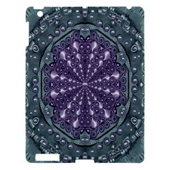 Star And Flower Mandala In Wonderful Colors Apple Ipad 3/4 Hardshell Case by pepitasart