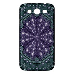 Star And Flower Mandala In Wonderful Colors Samsung Galaxy Mega 5 8 I9152 Hardshell Case  by pepitasart