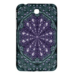 Star And Flower Mandala In Wonderful Colors Samsung Galaxy Tab 3 (7 ) P3200 Hardshell Case  by pepitasart