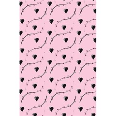 Love Hearth Pink Pattern 5 5  X 8 5  Notebooks by Celenk