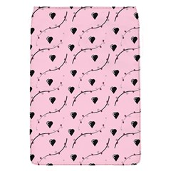 Love Hearth Pink Pattern Flap Covers (s)  by Celenk