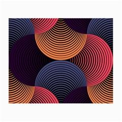 Geometric Swirls Small Glasses Cloth (2 Side) by Celenk