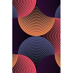 Geometric Swirls 5 5  X 8 5  Notebooks by Celenk