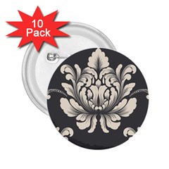 Vintage And Retro 2 25  Buttons (10 Pack)  by Celenk