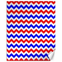 Zig Zag Pattern Canvas 11  X 14   by Celenk