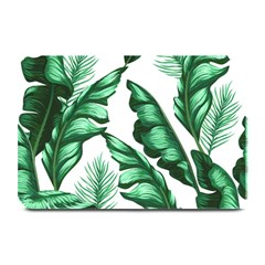 Banana Leaves And Fruit Isolated With Four Pattern Plate Mats by Celenk