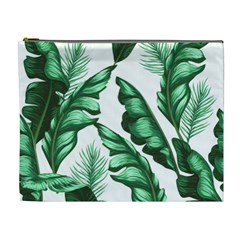 Banana Leaves And Fruit Isolated With Four Pattern Cosmetic Bag (xl) by Celenk