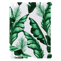 Banana Leaves And Fruit Isolated With Four Pattern Apple Ipad 3/4 Hardshell Case (compatible With Smart Cover) by Celenk